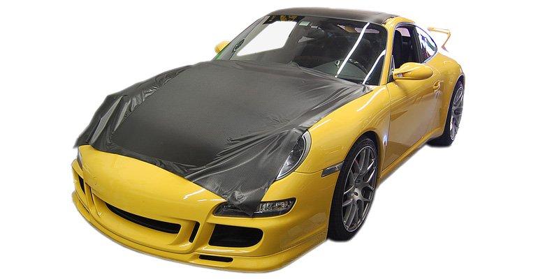 Vollfolierung Teilfolierung Porsche