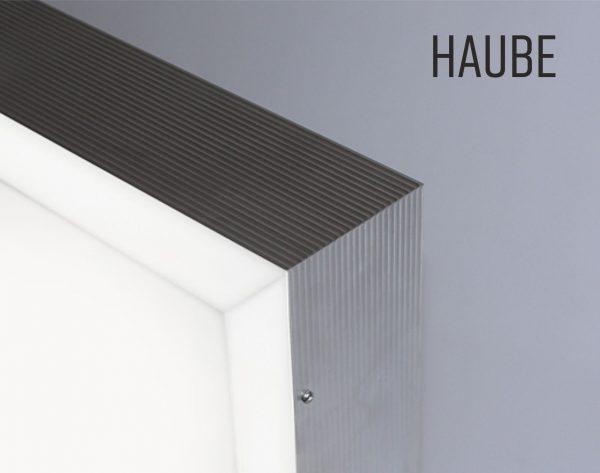 Haube, Profil 8, Lichtwerbung
