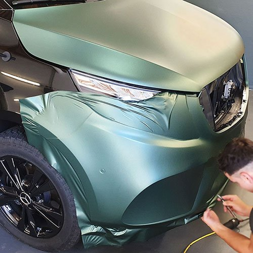 Mercedes V Klasse Van Car Wrapping