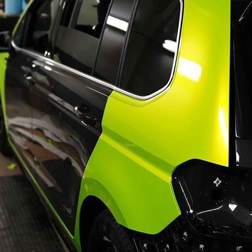 VW Touran Teckwrap Vollverklebung