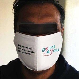 Individuelle Masken Mundschutz Cornonaschutz