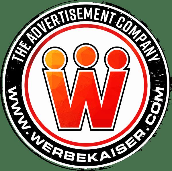 Werbekaiser Logo Werbetechnik + Lichtwerbung + Folientechnik NRW