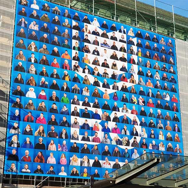 Stadt-Bochum-Banner-Montage-Rathaus-Werbekaiser